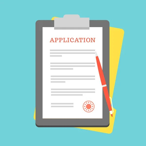 Application form Stock Vectors, Royalty Free Application form