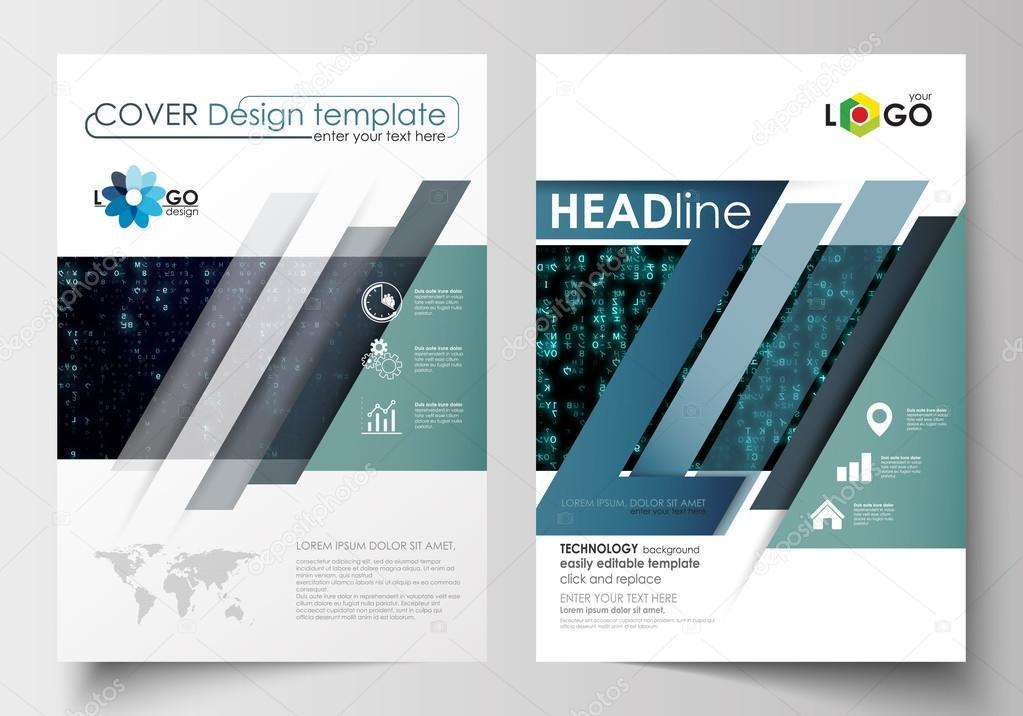 Templates for brochure, magazine, flyer, booklet Cover design