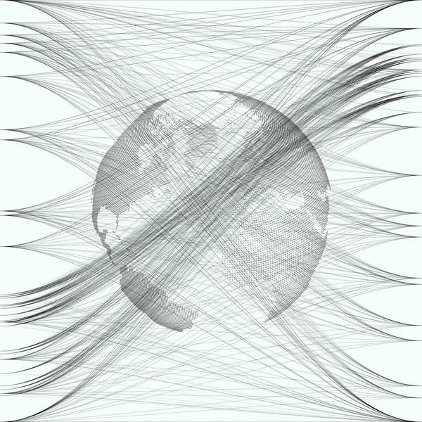 Dotted Swirl Line cvfreelettersbrandforesight