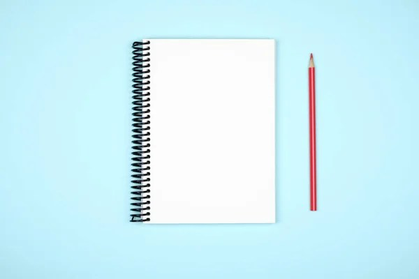 Blank writing pad for ideas on colored background \u2014 Stock Photo - colored writing paper
