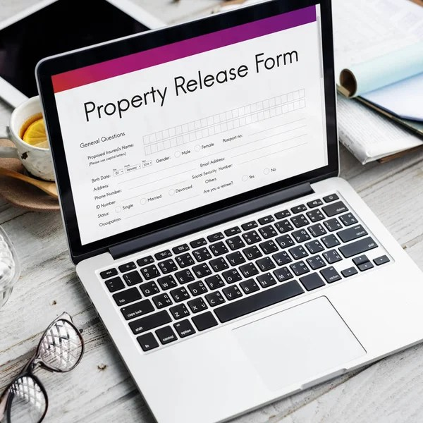 Property release form Stock Photos, Royalty Free Property release - property release form