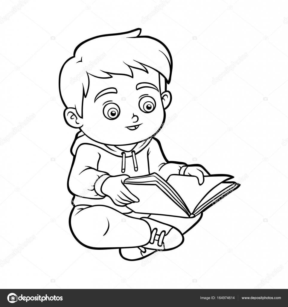 bambino che legge auto electrical wiring diagram 5 Wire Cdi Wiring Diagram libro para colorear ni u00f1o leyendo un libro u2014 archivo