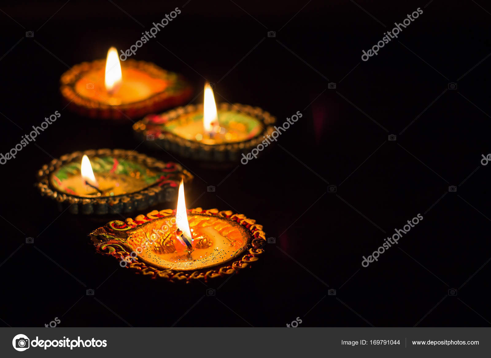 Earthen Lamp Diwali Earthen Lamp Vector Free Elegant Greeting Card With