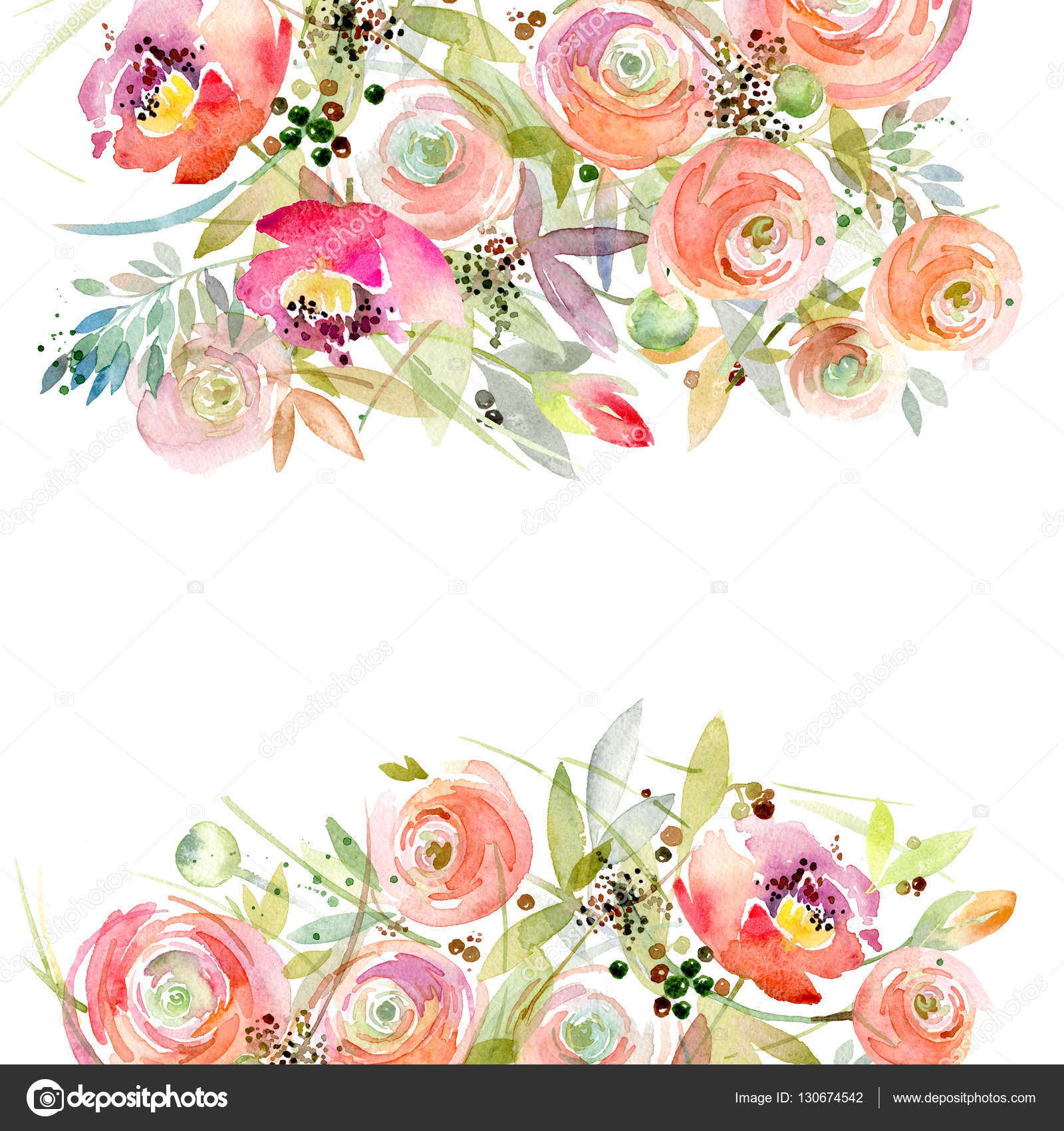 Best Cute Girly Wallpapers Watercolor Flower Background Vintage Flower Greeting