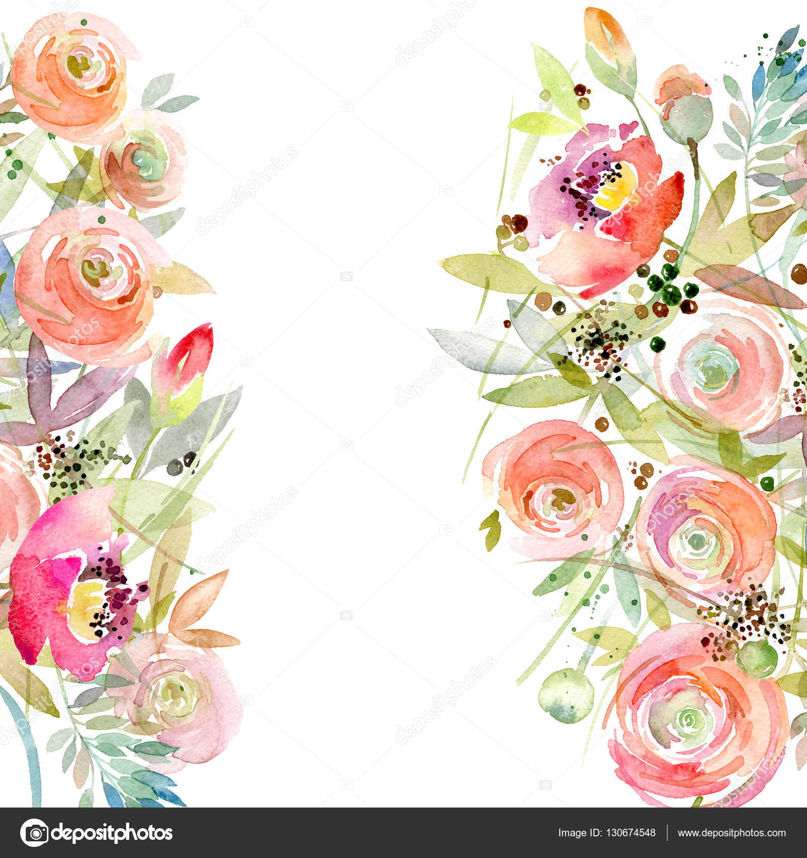 Cute Rustic Fall Wallpapers For Laptop Watercolor Flower Background Vintage Flower Greeting