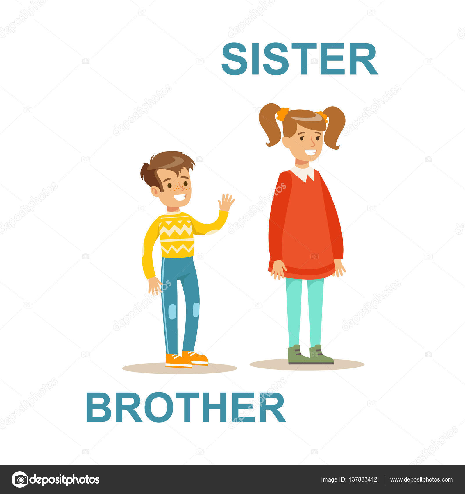 Cute Kid Wallpapers Free Download Sister And Brother Cartoon Pictures Fandifavi Com