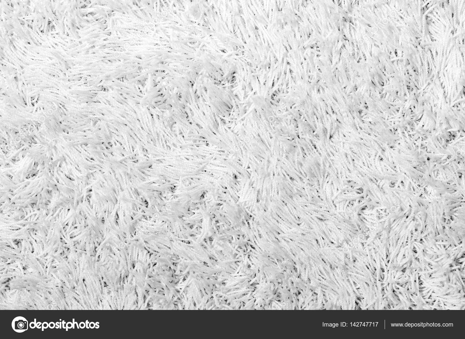 Alfombra Blanca White Shaggy Carpet Texture Stock Photo Tuomas