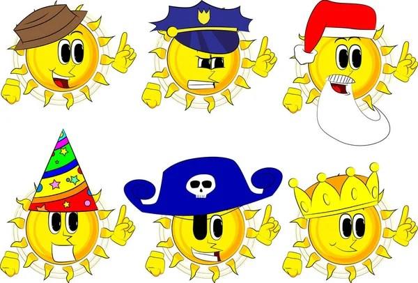 Un oficial de policía de dibujos animados con una expresión enojada