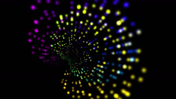 4k Abstract rotation ray light,web tech backgroundpoint pattern