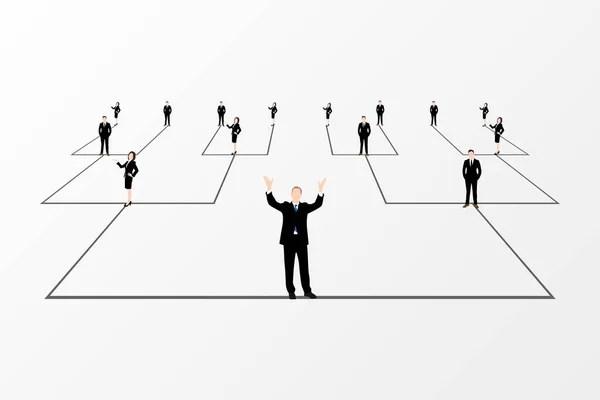 Organization Chart Tree Company Corporate Hierarchy Chairman CEO