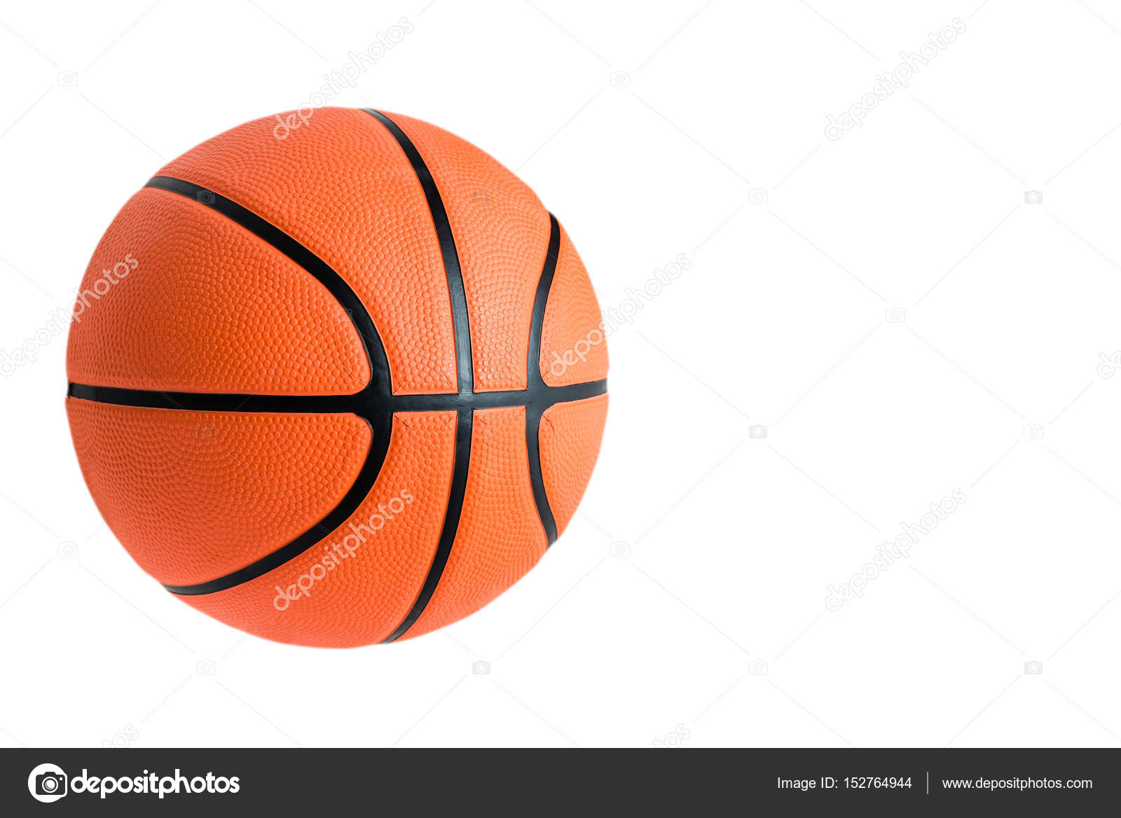 Basketball Ball Basketball Ball Over White Background Stock Photo Karn2608