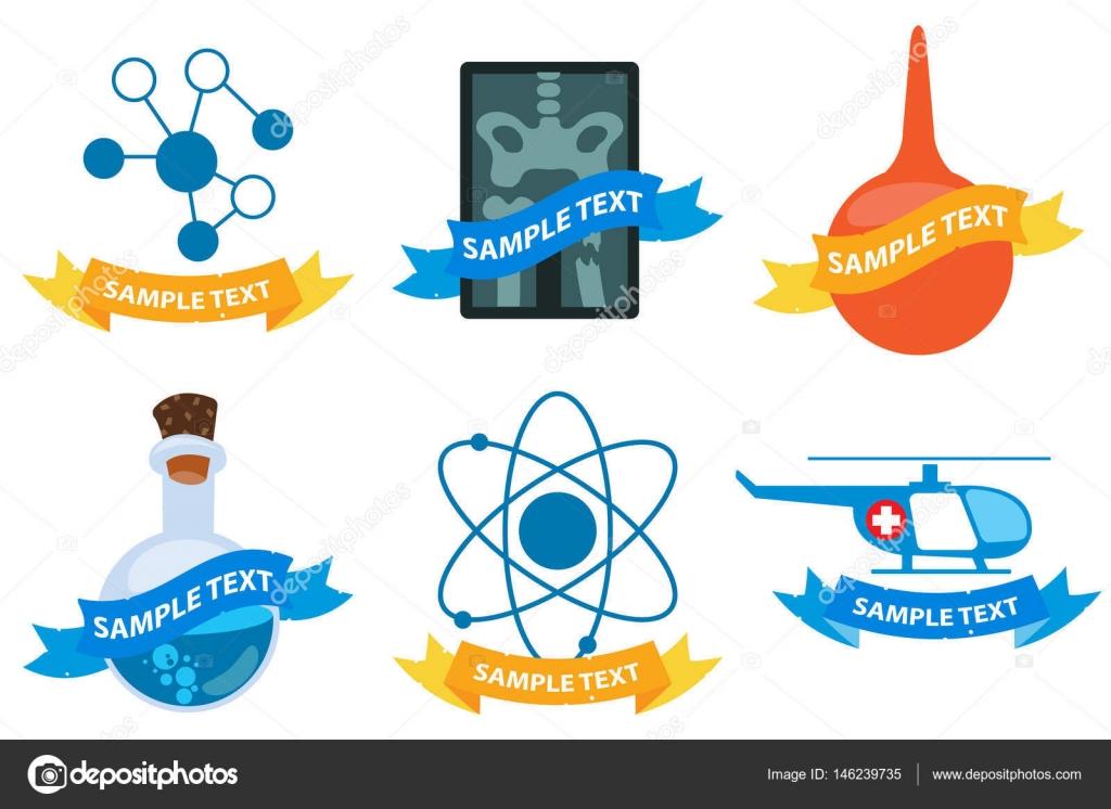Medical logos set \u2014 Stock Vector © filkusto #146239735