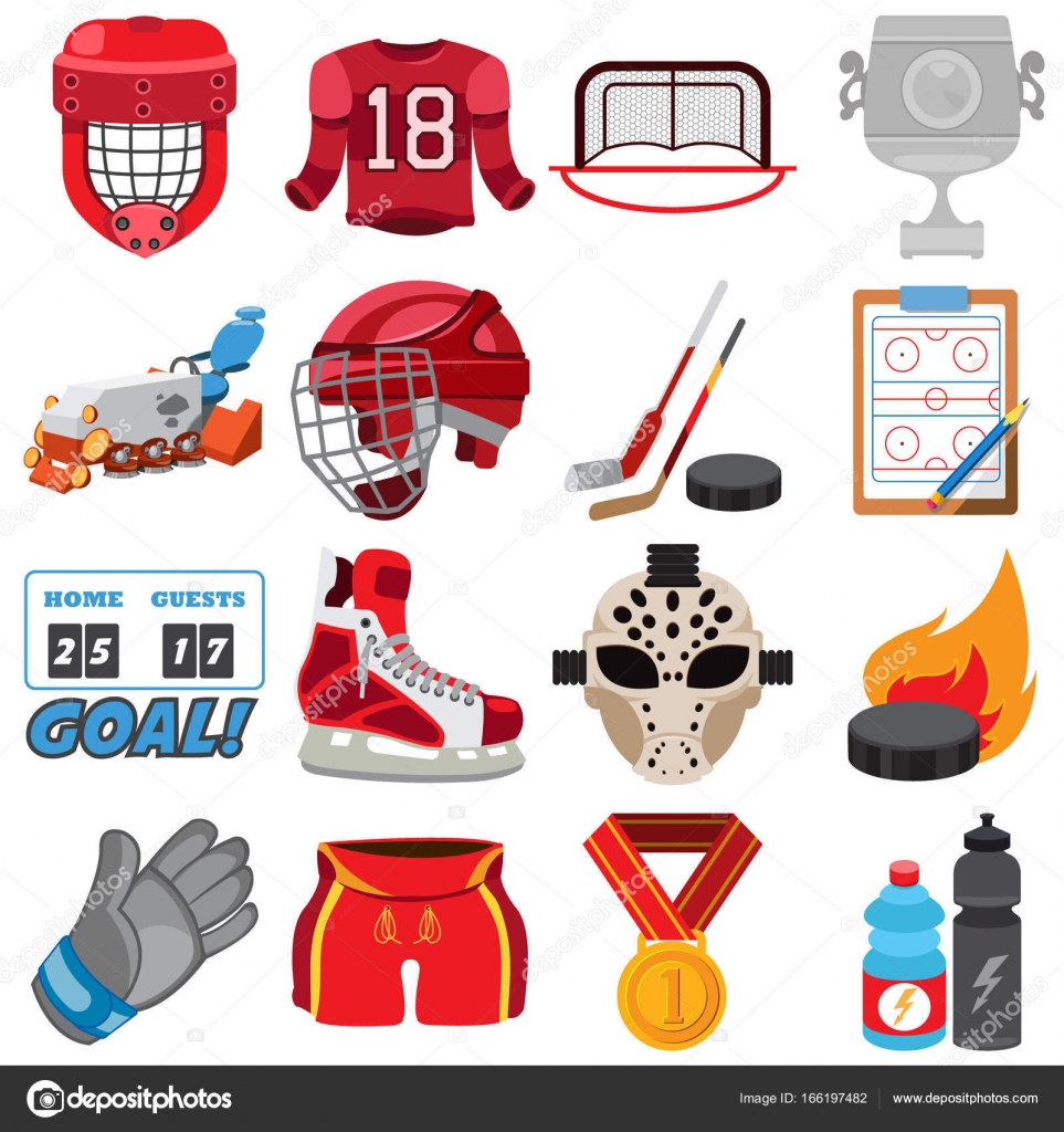 Hockey Logos Ice Hockey Logos Stock Vector Filkusto 166197482