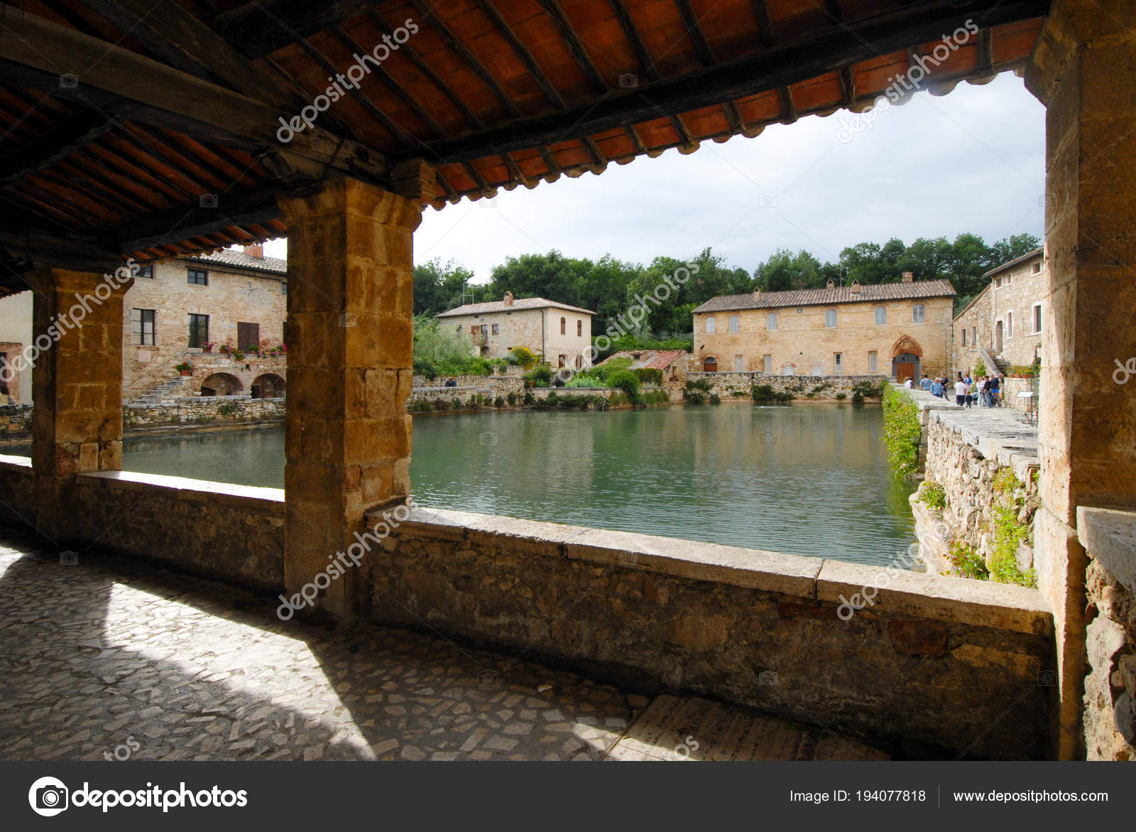 Bagno Vignoni Free Thermal Baths Old Thermal Baths In The Medieval Village Bagno Vignoni Tuscany