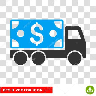 Cash Delivery Vector Icon — Stock Vector © ahasoft #125870874
