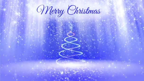 light composition for merry Christmas background with 3d Christmas