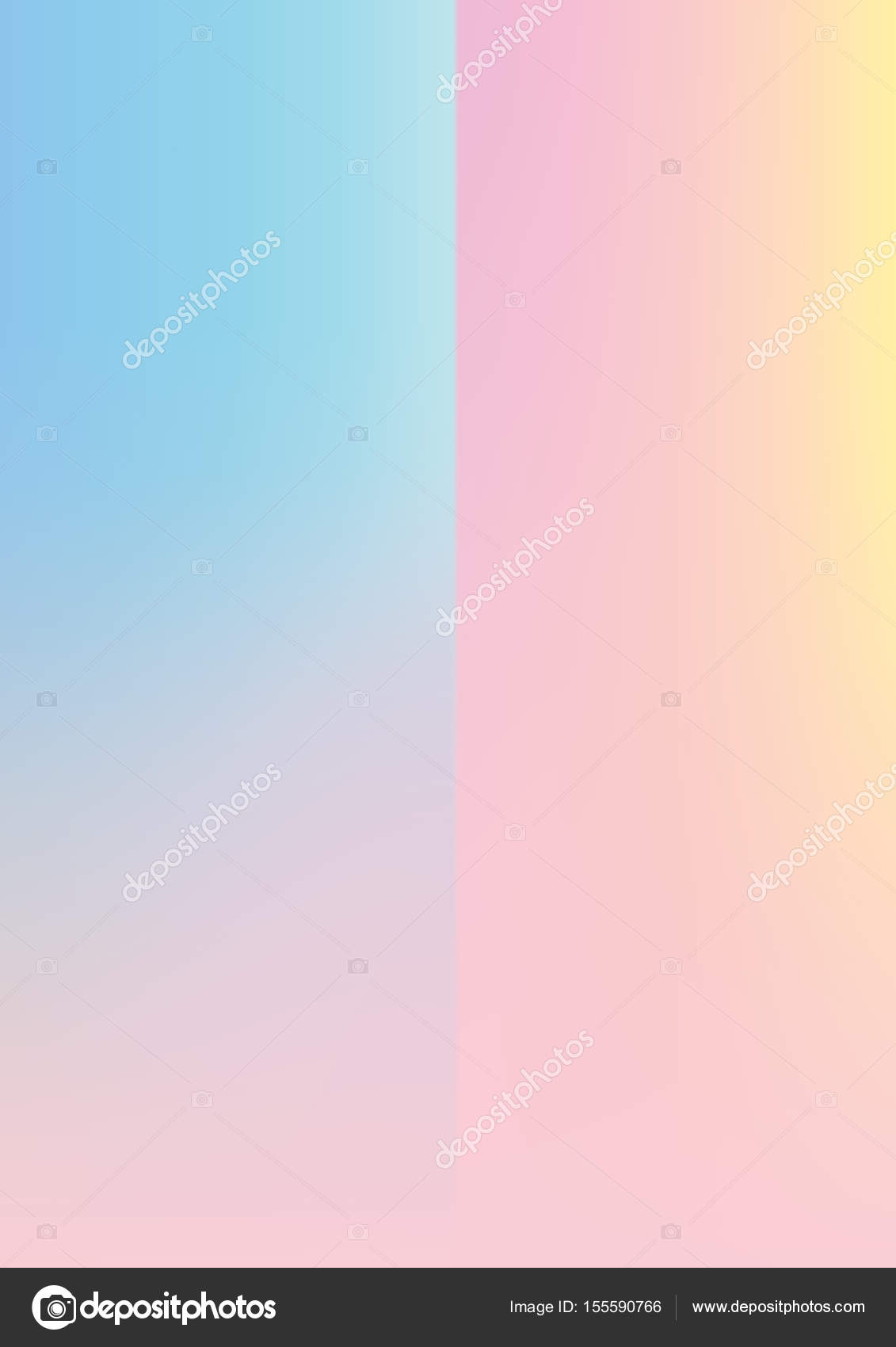 Holographic gradient baby blue and pink paper background \u2014 Stock