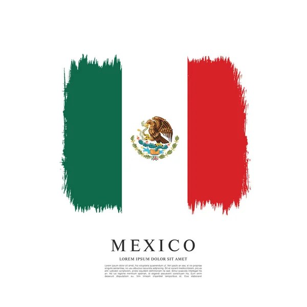 Mexican flag banner template \u2014 Stock Vector © Igor_Vkv #137863754