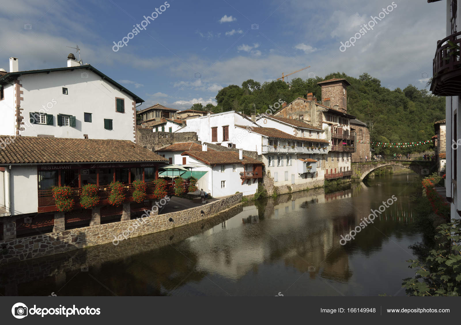 Saint Jean Pied De Port Saint Jean Pied De Port Stock Editorial Photo Francisgonsa
