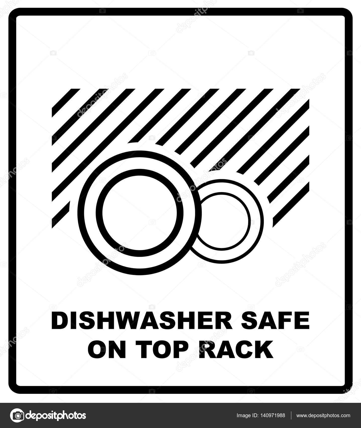 symbole lave vaisselle