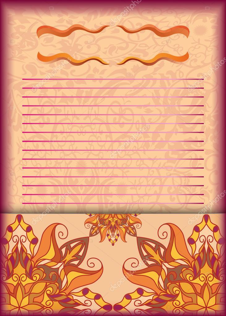 Tarjeta de invitación para jóvenes, folleto, postal, folleto - formato para invitacion