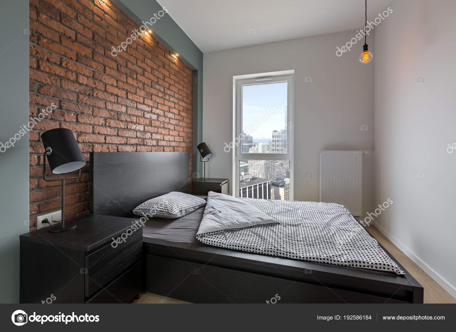 Chambre à Coucher Style Industriel