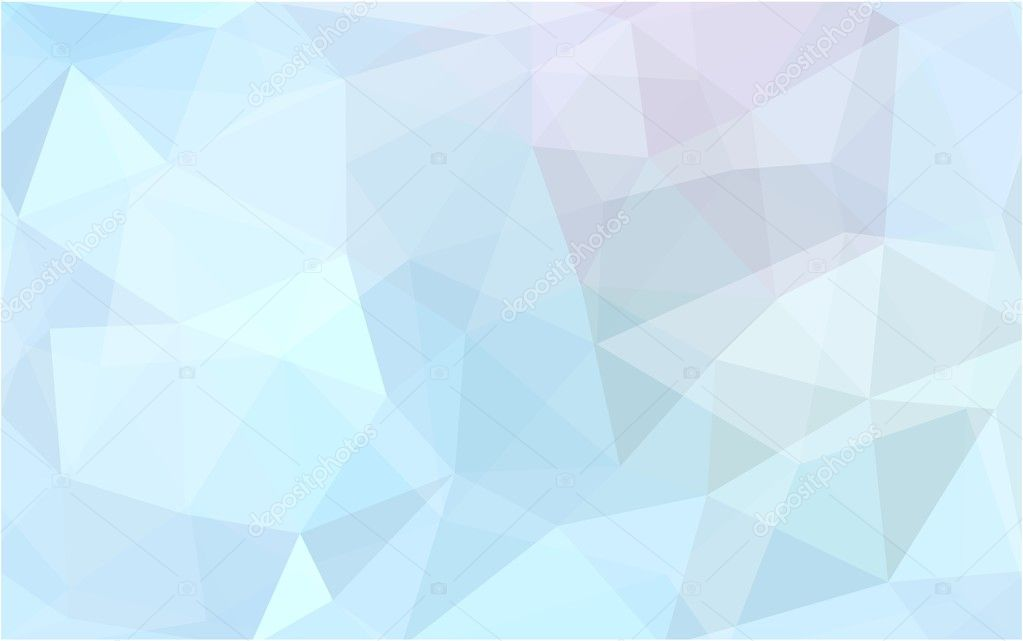 Light blue polygonal design pattern,which consist of triangles and