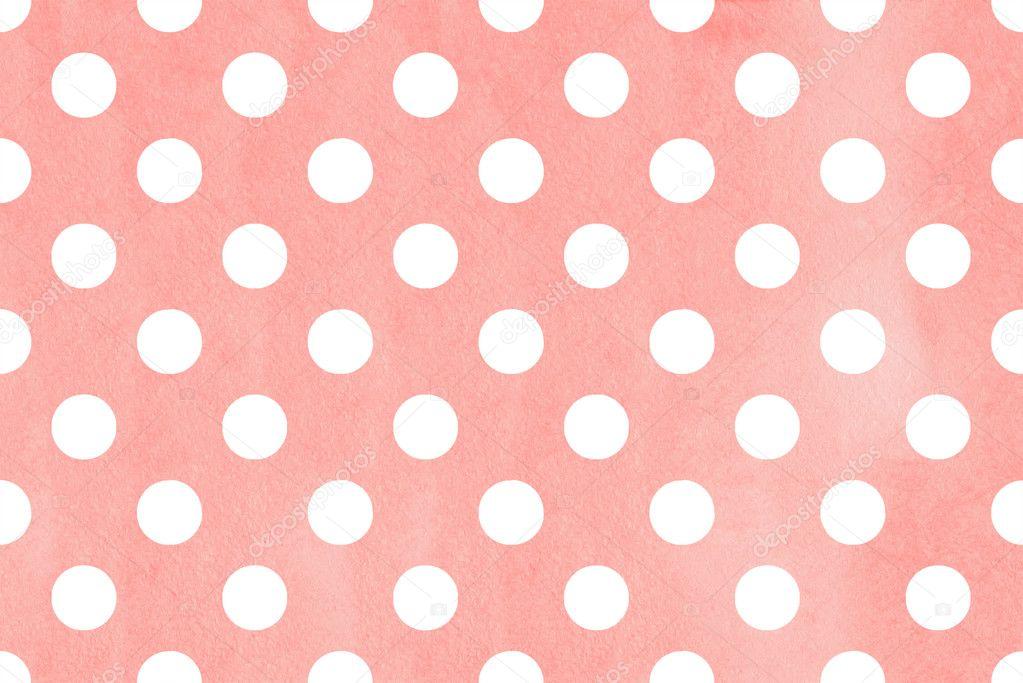 Watercolor polka dot background \u2014 Stock Photo © 4-sukrnet #125777856