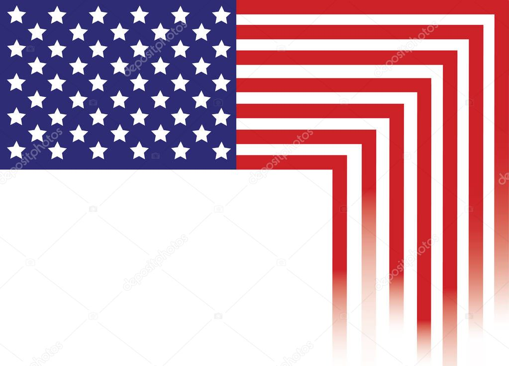 United States of America Flag , USA Flag , America Flag abstract - America Flag Background