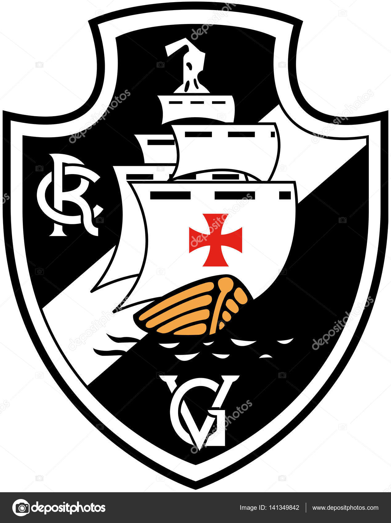 And Vasco Da Gama The Emblem Of The Sports Club
