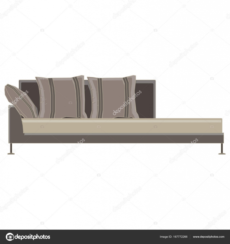 Sofa Vector Free Sofa Vector Icon Couch Furniture Illustration Design Isolated