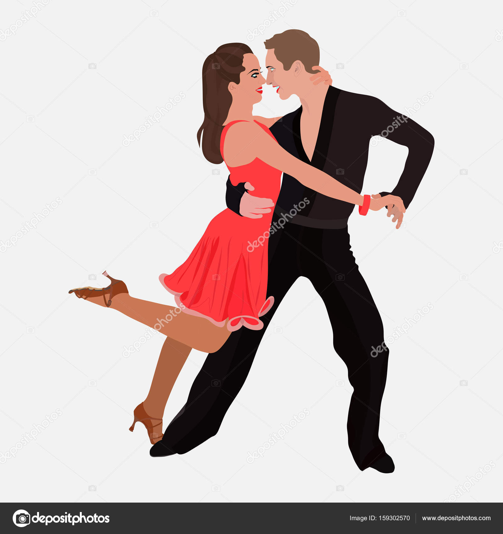 Bailes De Salon Rock And Roll Dance Couple Dancing Topsimages