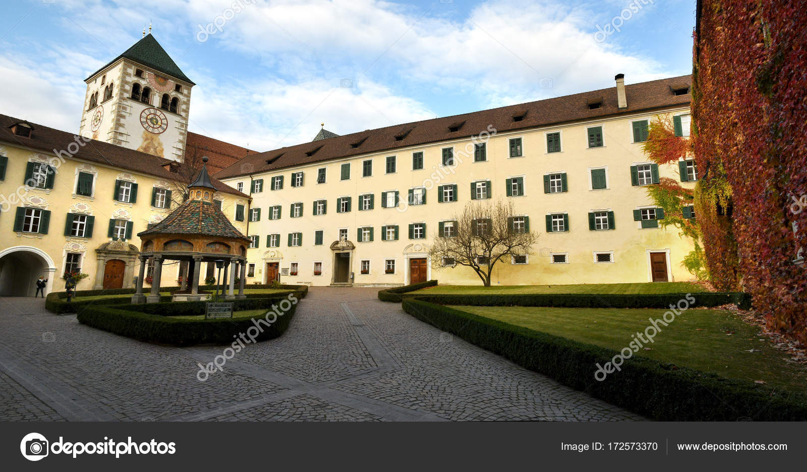 Hartmann Trento Abbey Of Novacella South Tyrol Bressanone Italy The
