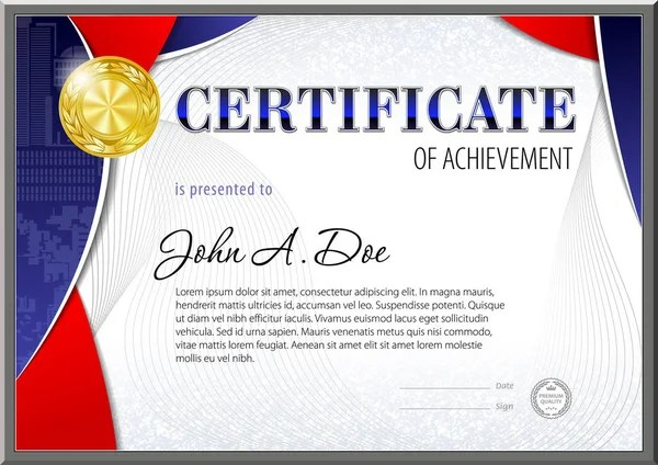 Certificate Blank Template Design Can Use Award Other Official - Award Paper Template