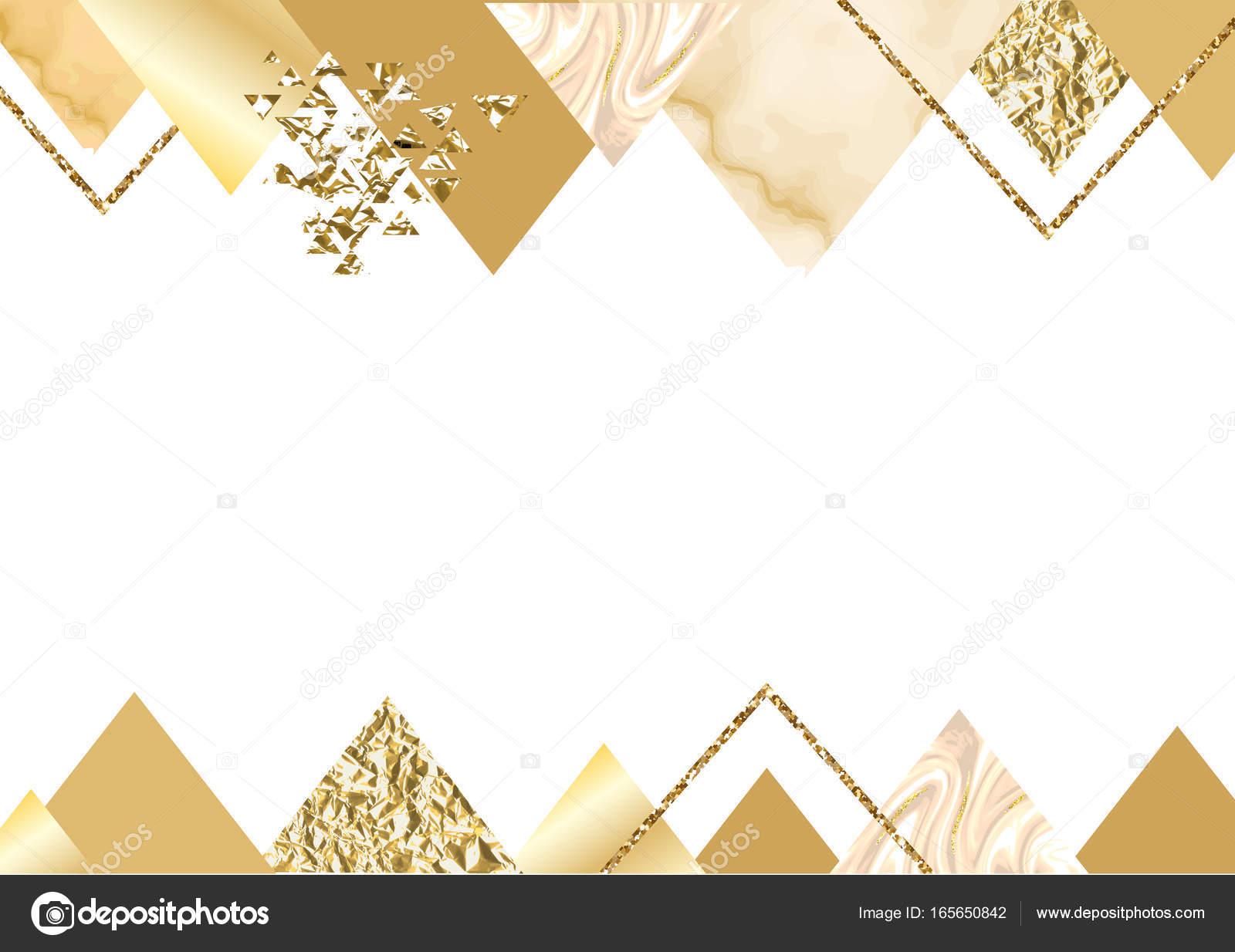 Black And White Diamond Wallpaper Golden Invitation Or Brochure Banner Marble Background