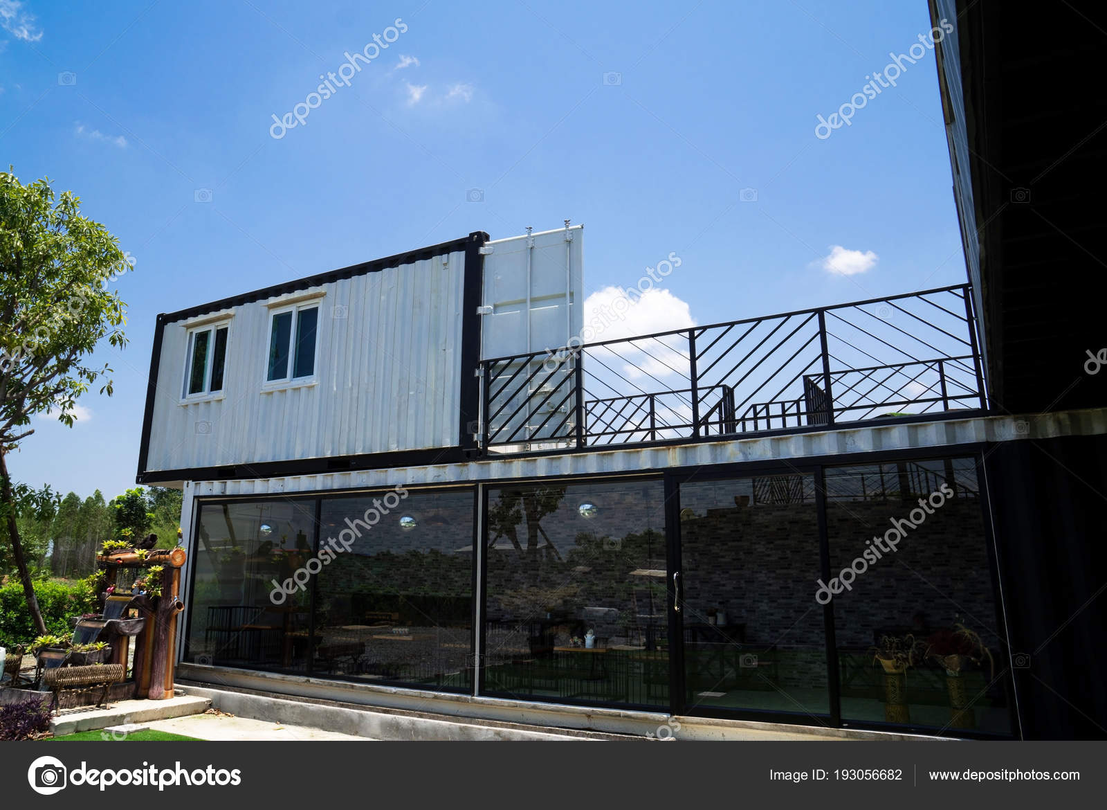 Container Haus Modern Haus Aus Schiffscontainern 8732 Made House Decor
