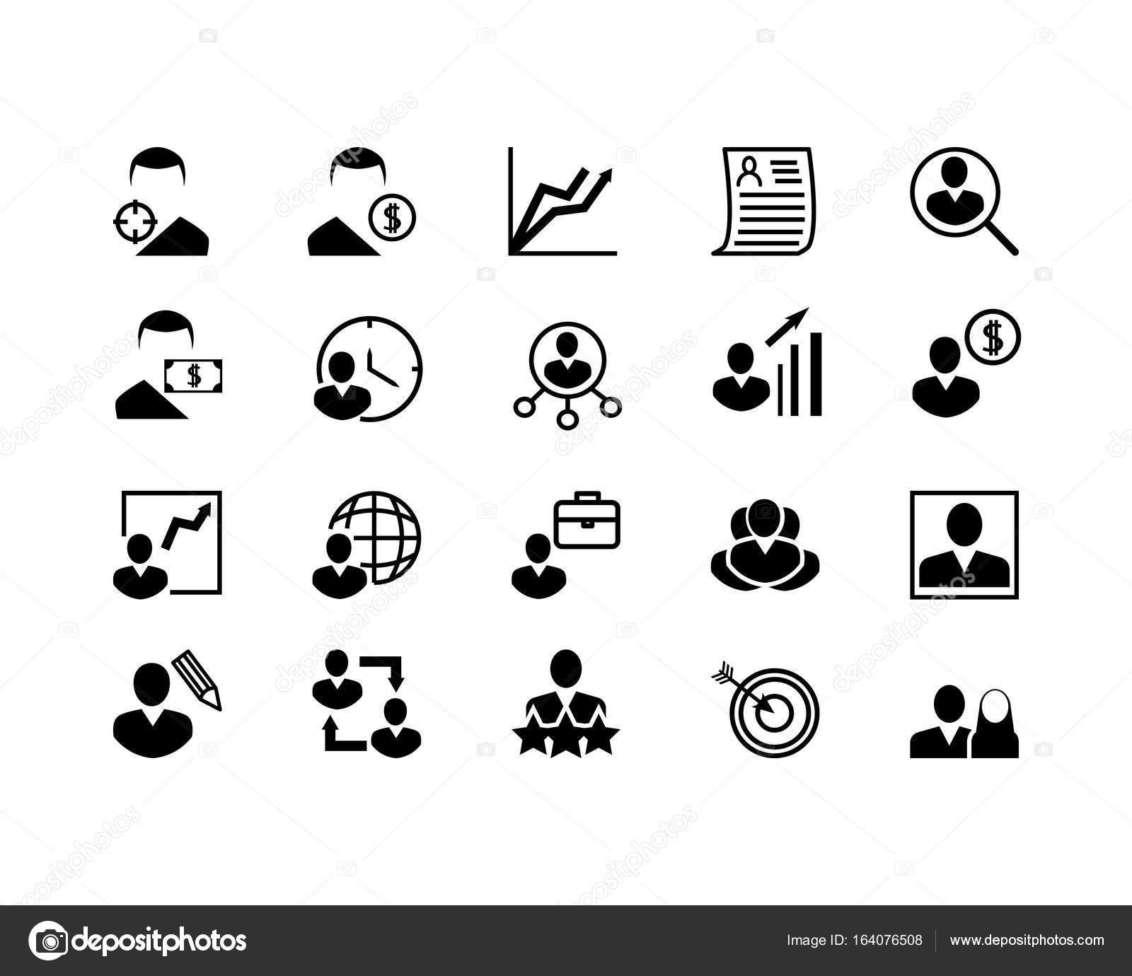 icones competences cv
