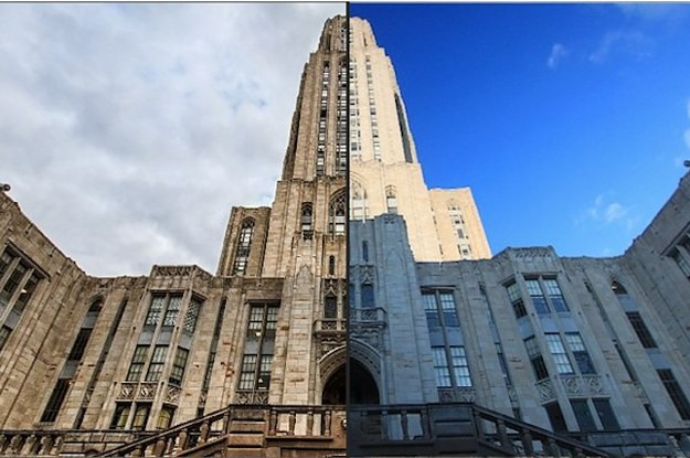 Torre de la Universidad de Pittsburg (EEUU)