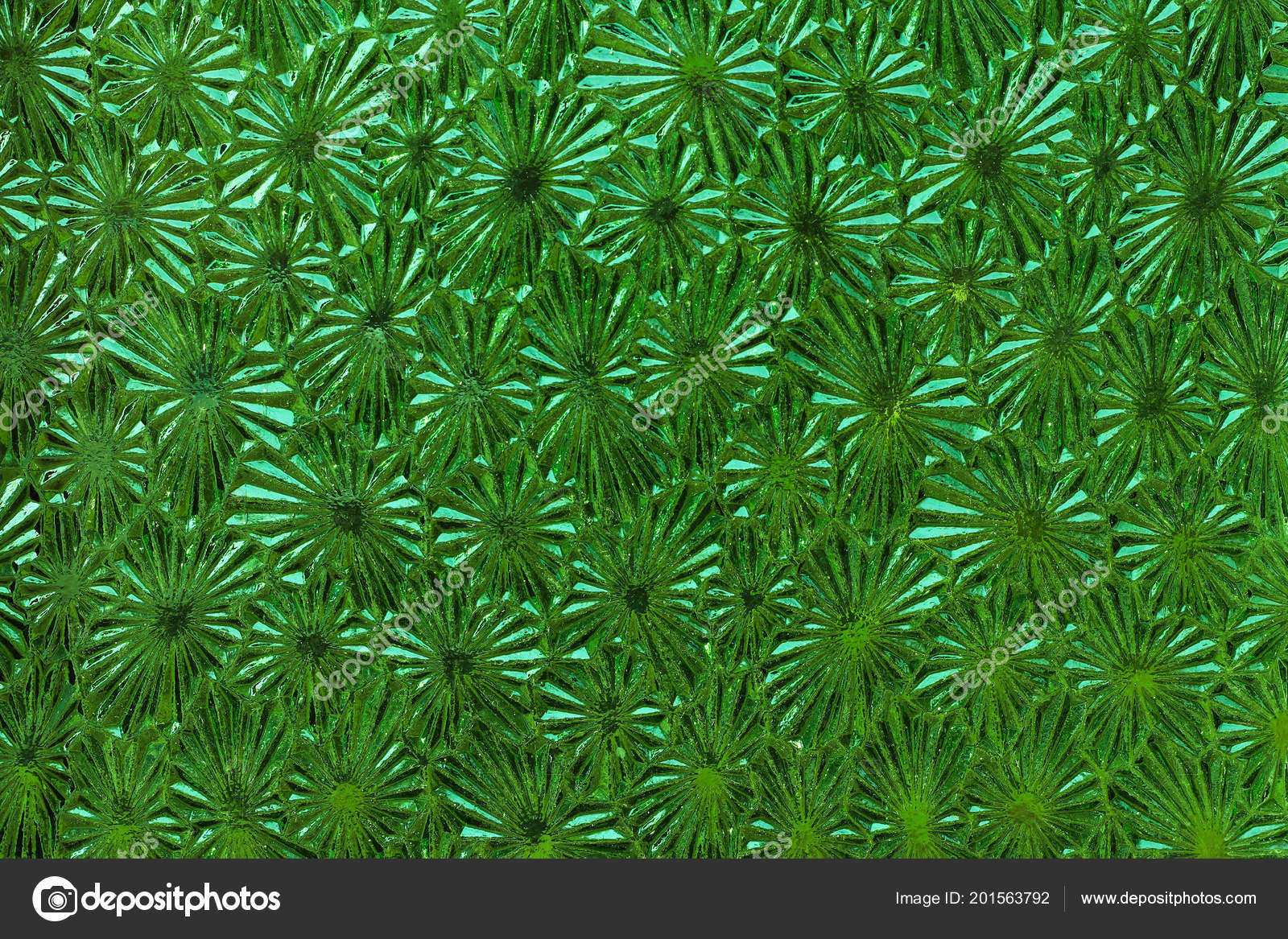 Patterned Glass Ornate Green Glass Detail Surface Glass Texture Patterned Glass
