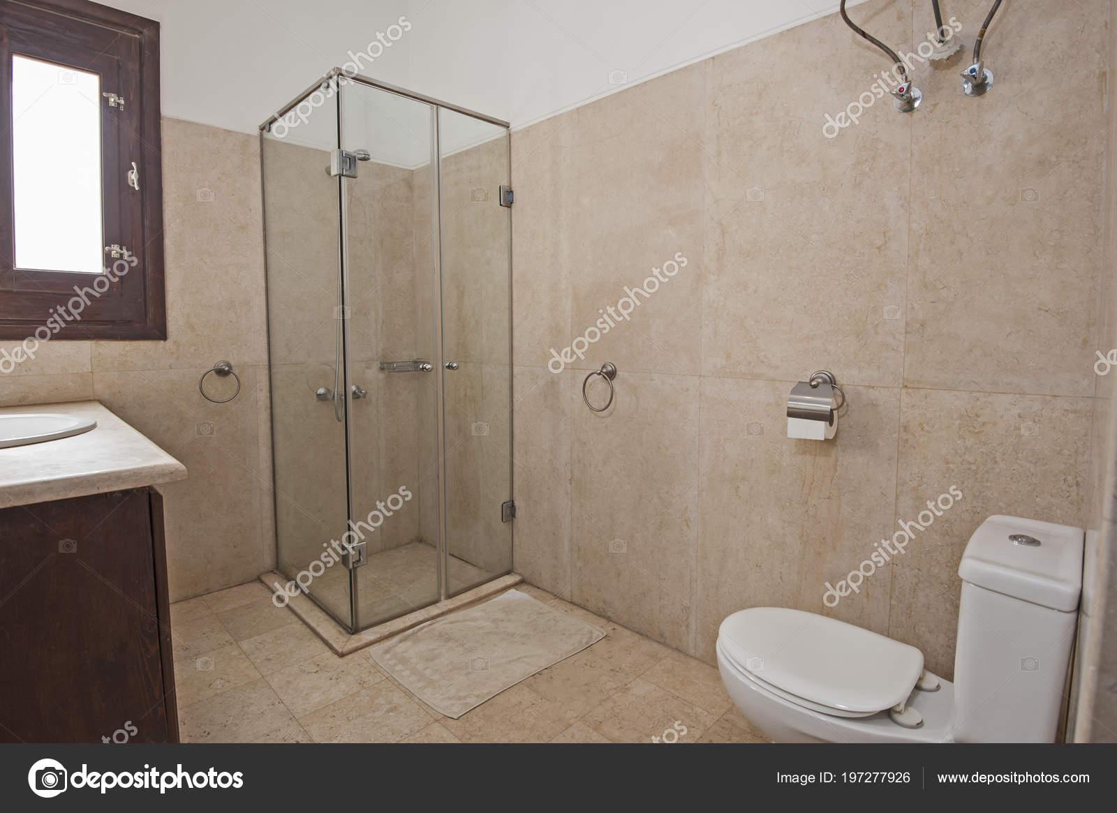 Diseño Interiores Lujo Mostrar Casa Cuarto Baño Con Cabina Ducha