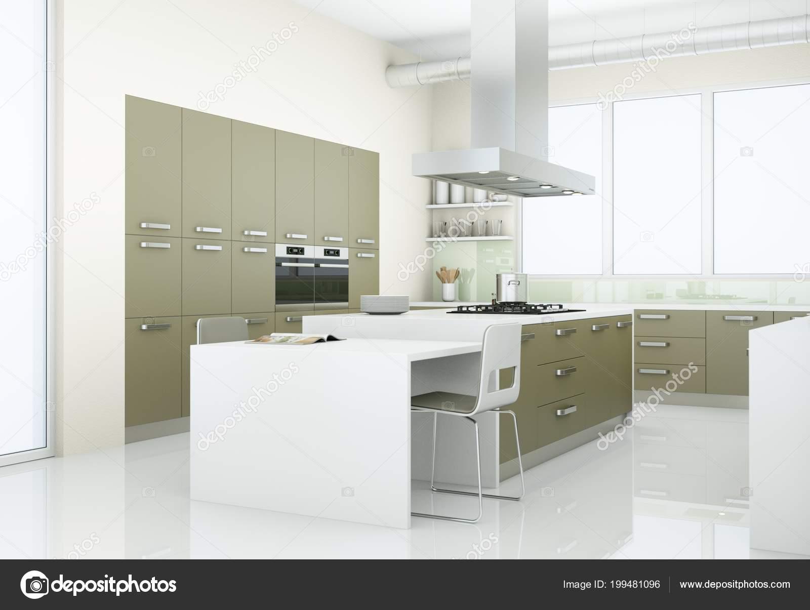 Grijze Moderne Keuken : Moderne keuken grijs download keuken met grijs en babyfoot