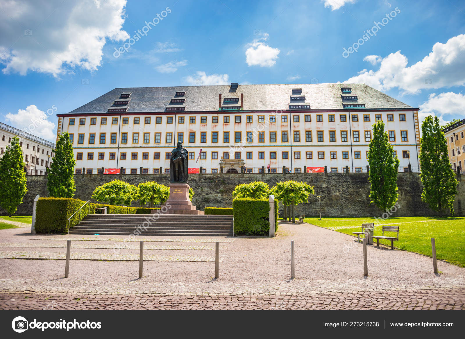Schloss Friedenstein Of Gotha Stock Editorial Photo Val Th - Herzogliches Museum Gotha