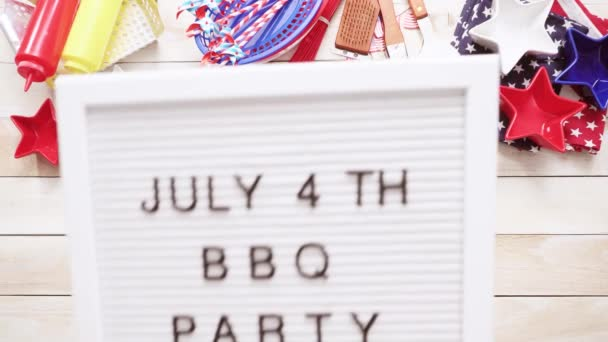 Bbq Party Sign White Memo Board \u2014 Stock Video © urban_light #201030916 - how to sign a memo