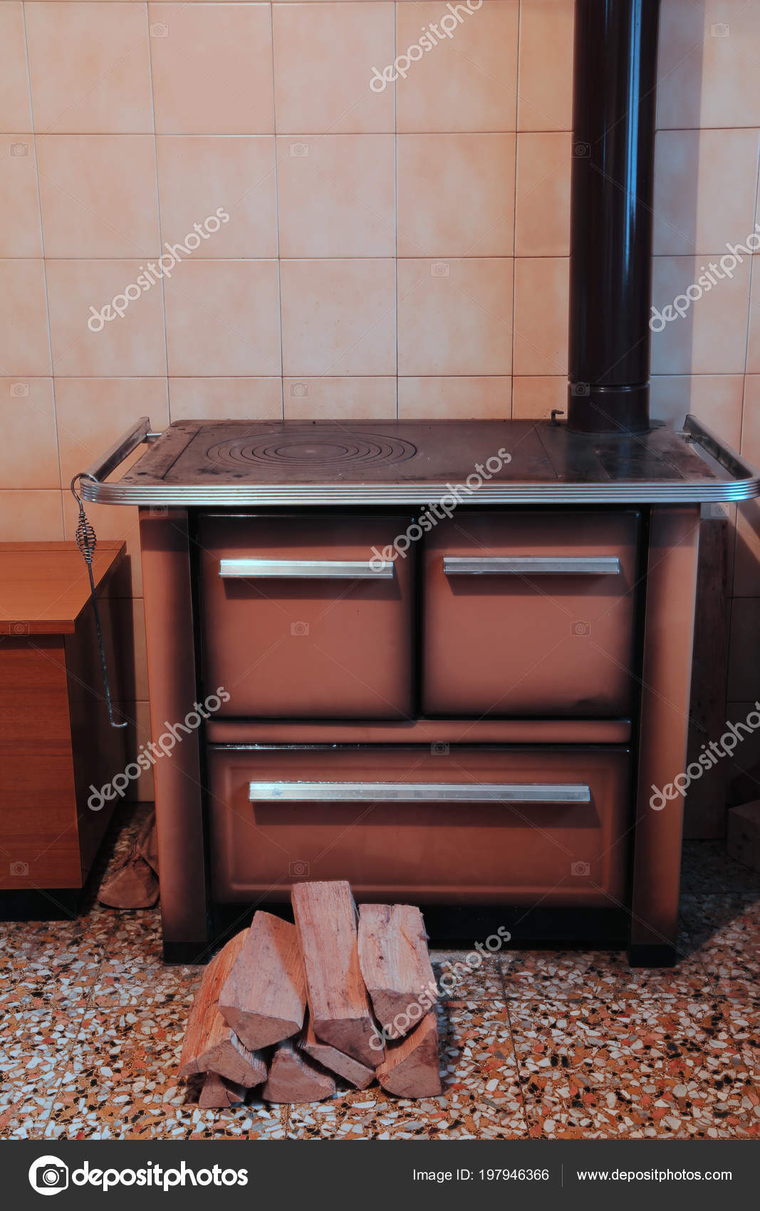 Cucina Legno Stufa | Offerte Cucine A Legna Cool Cucina Stufa A ...