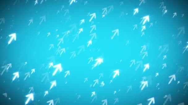 Arrows Technology Background Clip Animation Arrows Rising Business