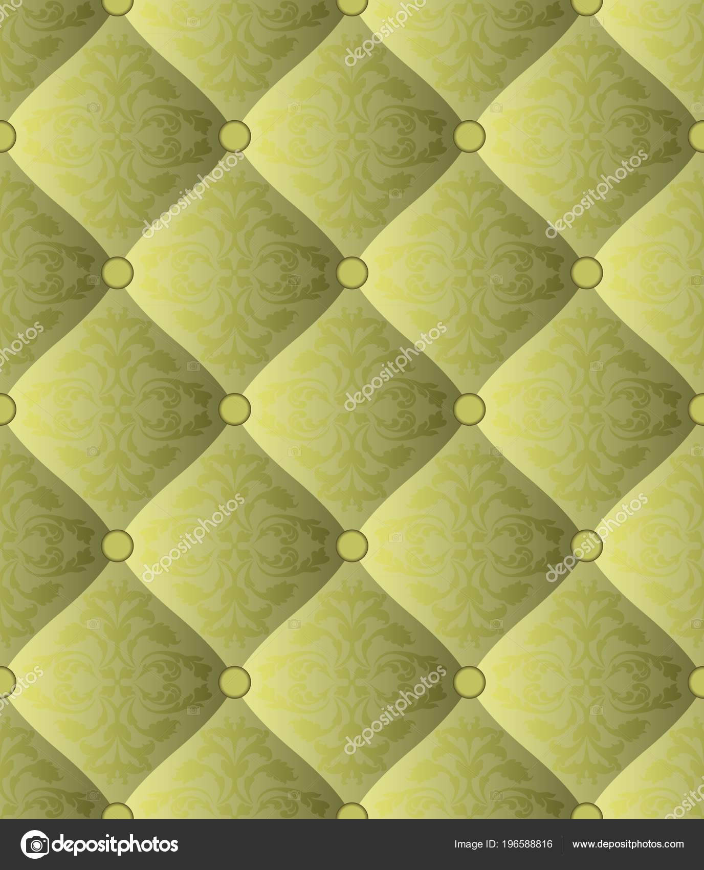 Quilted Fabric Quilted Fabric Ornament Seamless Pattern Stock Vector Mtmmarek