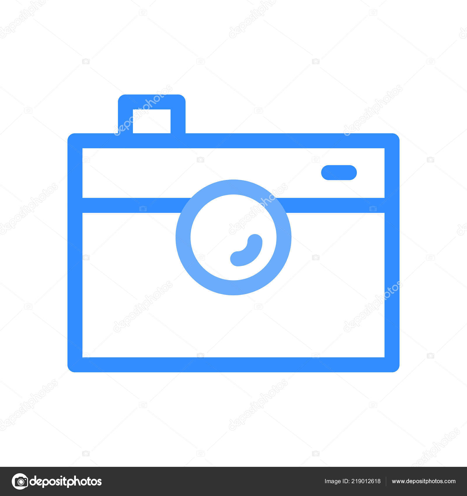 Möbel Modern Design Camera Icon Web Mobile Modern Minimalistic Flat Design Stock