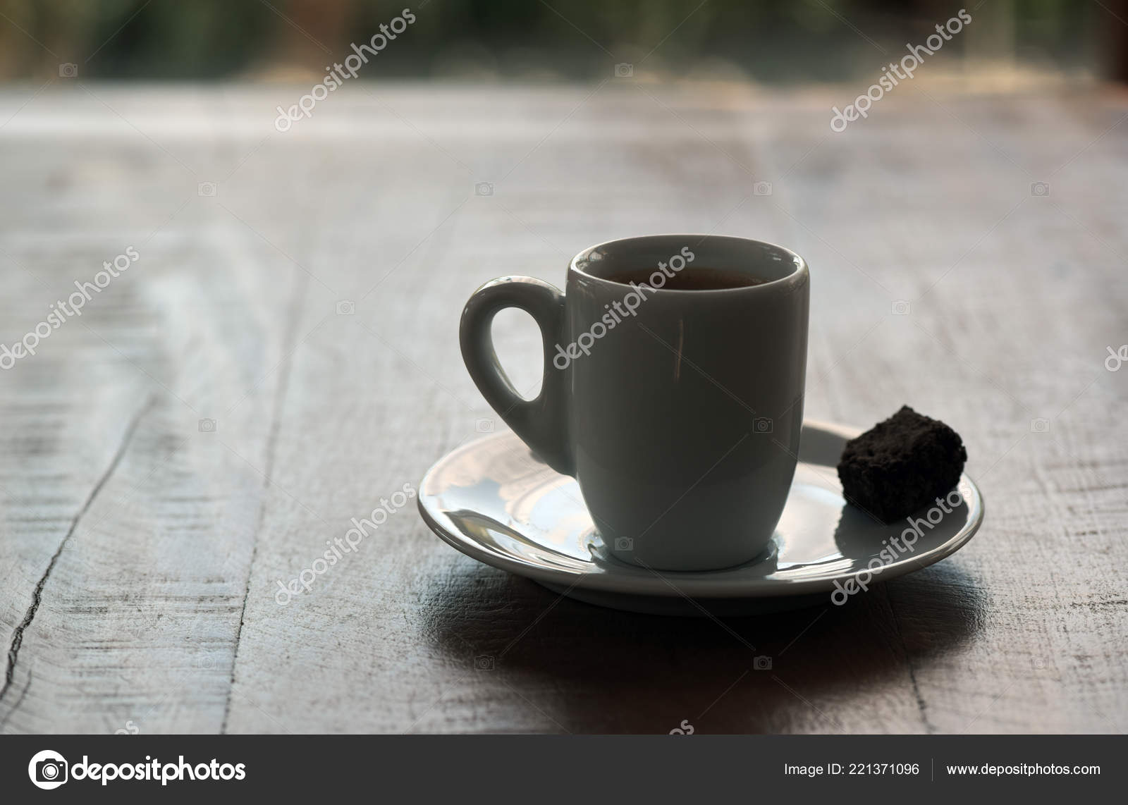 Small Coffee Cups And Saucers Cup Espresso Coffee Backlight Saucer Small Piece Cake Wooden Table