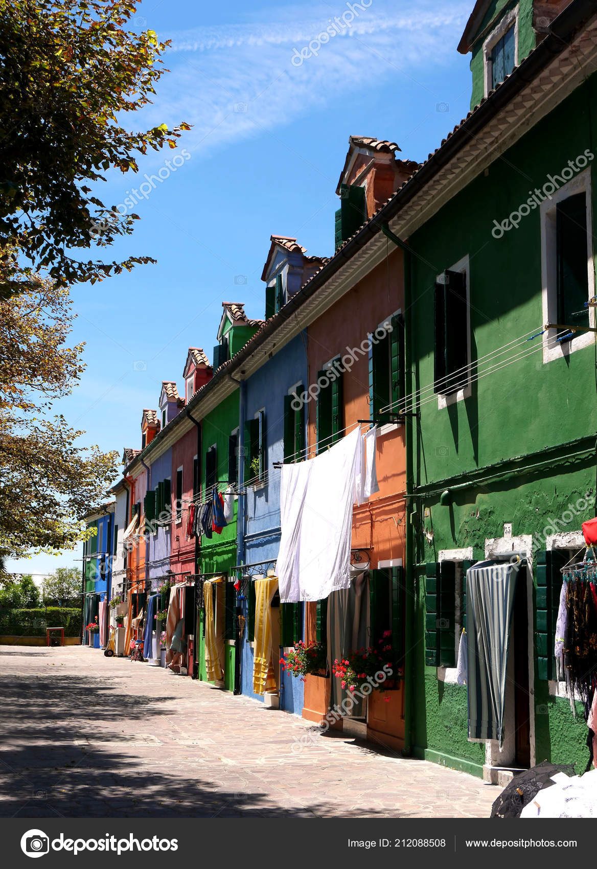 Brilliant House Romantic Houses Painted Brilliant Pastel Shades Island Burano