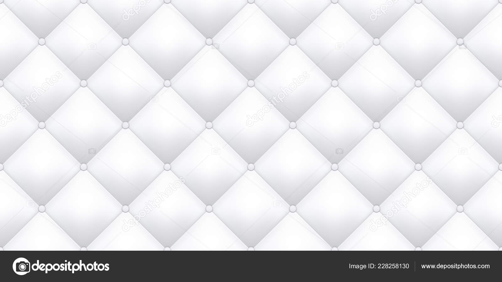 Sofa Texture Vector White Leather Upholstery Texture Pattern Background Vector